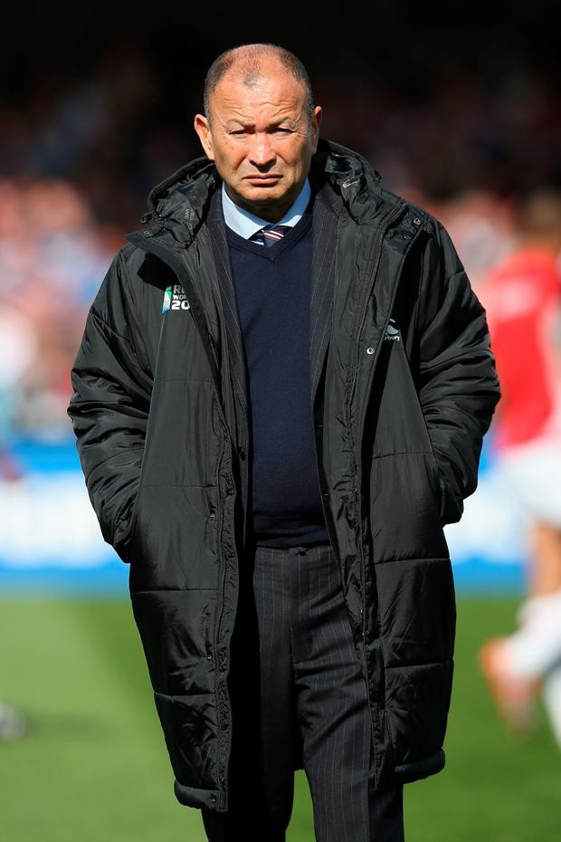 Eddie Jones refused to use the short turnaround between matches as an excuse for his team's loss
