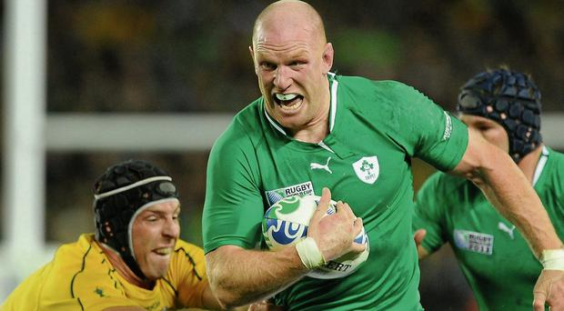 Changed relationship: in the last seven games between the countries Ireland have won three and drawn one. The win in Auckland in 2011 was the first time Ireland beat the Wallabies in a World Cup match, having lost in 1987, 1991, 1999 and 2003. Photo: Sportsfile