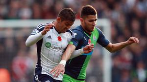Mehdi Abeid, right, believes team-mate Ayoze Perez can take the Barclays Premier League by storm