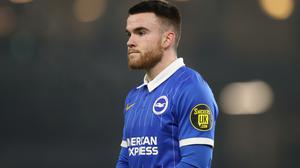 Brighton forward Aaron Connolly has struggled for goals. Photo: PA