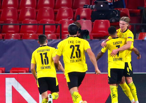 Borussia Dortmund duo Erling Haaland and Jadon Sancho will be the subject of intense transfer speculation this summer
