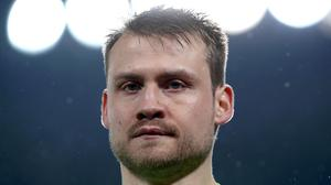 Liverpool goalkeeper Simon Mignolet had a night of mixed fortunes