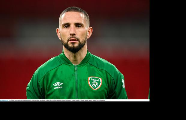 Conor Hourihane could be set for a move Middlesbrough. Photo: Stephen McCarthy/Sportsfile