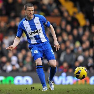 Gary Caldwell hopes to return for Wigan's crucial Barclays Premier League run-in