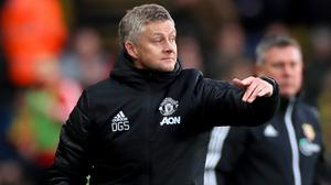 Ole Gunnar Solskjaer was not happy with United's display at Vicarage Road (Mike Egerton/PA)