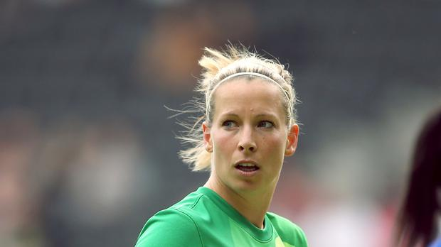 Rachel Brown-Finnis played 82 times for England
