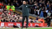 Pep Guardiola needs Manchester City to bounce back after defeat at Liverpool