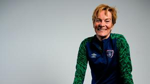 War of words: Ireland senior women's manager Vera Pauw. Photo: Sportsfile