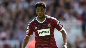 Alex Song is back in West Ham colours