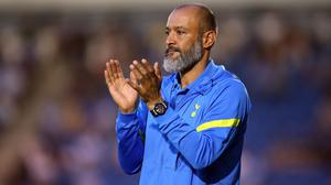 Nuno Espirito Santo could welcome back his South American contingent (Nigel French/PA)