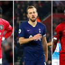 Marcus Rashford, Harry Kane and Sadio Mane are all sidelined by injury (Martin Rickett/Mark Kerton/PA)
