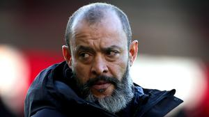 Nuno Espirito Santo says he has learned to keep a lid on his emotions (Mark Kerton/PA)