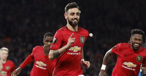 Bruno Fernandes has made a big impression in the early days of his Manchester United career (Martin Rickett/PA)