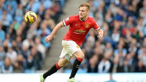 Luke Shaw is finding his feet at Manchester United