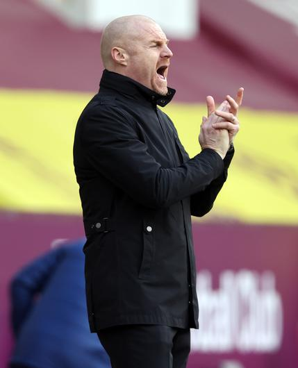 Sean Dyche flt his side looked tired in the first half (Clive Brunskill/PA)