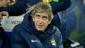 Manuel Pellegrini is simply focusing on Manchester City