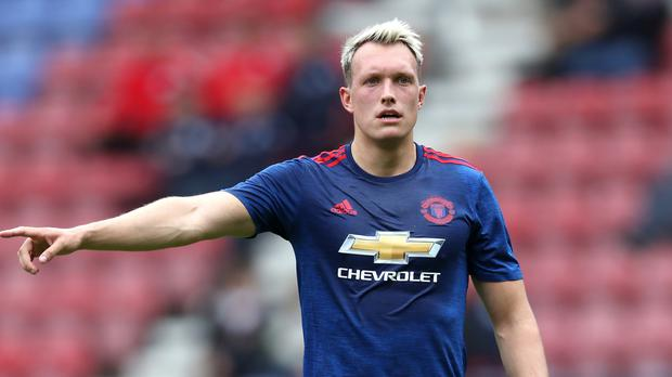 Manchester United's Phil Jones has been linked to Arsenal