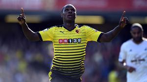 Odion Ighalo's goal gave Watford all three points