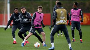Manchester United players have been told to stay away from training (Martin Rickett/PA)