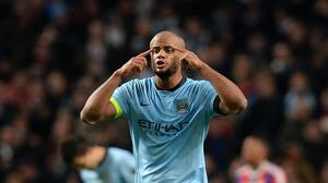 Manchester City's Vincent Kompany has been ruled out of Wednesday's trip to Sunderland