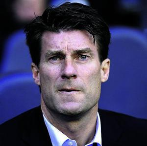 File photo dated 16/12/2012 of Swansea City manager Michael Laudrup. PRESS ASSOCIATION Photo. Issue date: Thursday May 9, 2013. Winning a trophy in his first season in English football has only enhanced the Dane's reputation, having been lauded for his work with the Swansea side in the short term. Has managerial experience in four countries in addition to a glittering playing career. See PA story SOCCER Everton Contenders. Photo credit should read: Jonathan Brady/PA Wire