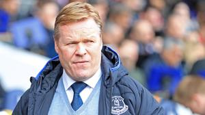 Ronald Koeman's Everton have not won at Anfield since 1999