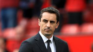Gary Neville believes Manchester City will finish the season as Premier League champions (Mike Egerton/PA)