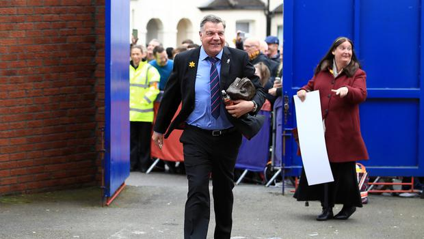 Sam Allardyce's Crystal Palace have won three games in succession