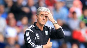 Alan Irvine is under pressure with West Brom winless in the Premier League