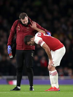 Arsenal's Sokratis Papastathopoulos is expected to be out for two to three weeks, boss Unai Emery says (John Walton/PA)