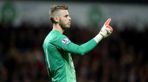 David de Gea has been in inspired form for Manchester United this season