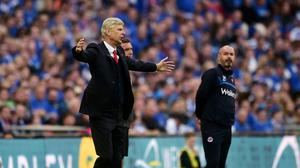 Arsenal manager Arsene Wenger, left, has guided his side into the final of the FA Cup again