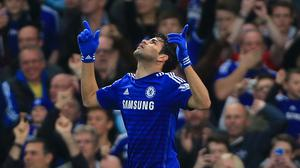 Diego Costa scored Chelsea's opener in the 11th minute