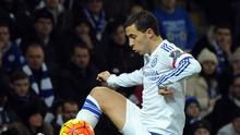 Chelsea's Eden Hazard missed the clash with Sunderland