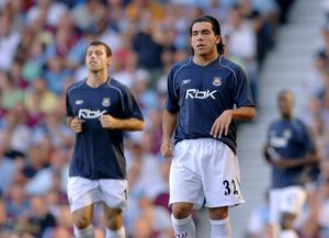 Carlos Tevez and Javier Mascherano kicked off their West Ham careers (Sean Dempsey/PA)