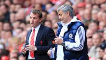 Liverpool's manager Brendan Rodgers insists that while there is now less contact between him and Chelsea boss Jose Mourinho, their respect for one another has not diminished.