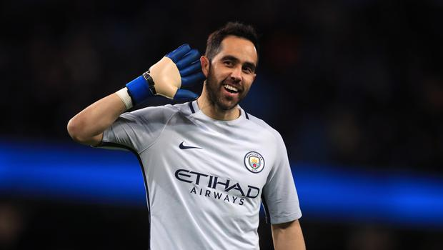 Claudio Bravo, pictured, has recently been dropped for Willy Caballero
