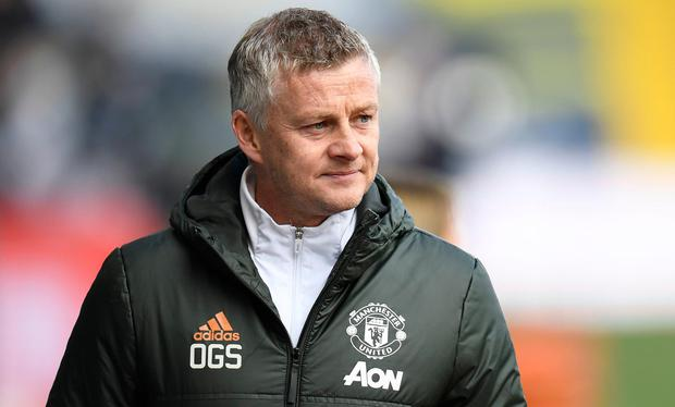 Manchester United manager Ole Gunnar Solskjaer. Photo: Peter Powell/PA