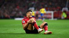 Broken down Alexis: Alexis Sanchez endured plenty of frustrating moments during his ill-fated stint at Manchester United