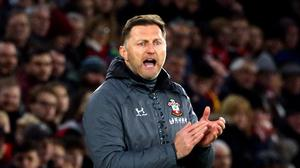 Southampton manager Ralph Hasenhuttl is looking for improved home form (Mark Kerton/PA)
