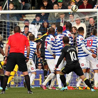 Shaun Maloney fires in a free-kick to salvage a point for Wigan