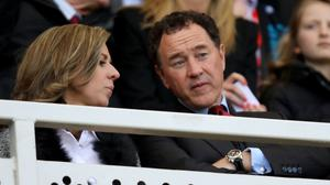 Middlesbrough chairman Steve Gibson, right, has no intention of selling the club