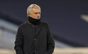 Jose Mourinho's team are ninth in the table and four points off a top-four place (Tim Keeton/PA)