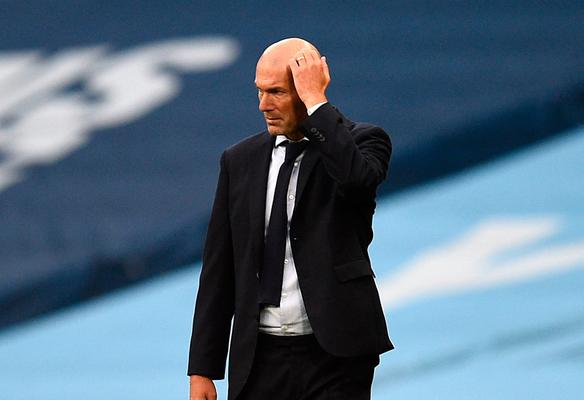 'Zinedine Zidane has done a fine job of delivering results, but even he seemed uncertain of the future at Real'