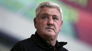 """Steve Bruce says Newcastle """"badly"""" miss the supporters inside St James' Park (Martin Rickett/PA)"""