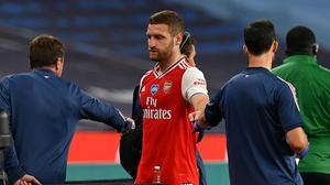 Arsenal's Shkodran Mustafi will miss the FA Cup final with a hamstring injury which requires surgery (Justin Tallis/NMC Pool/PA)