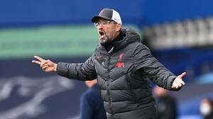 Jurgen Klopp felt Liverpool should have had a late winner (Laurence Griffiths/PA)