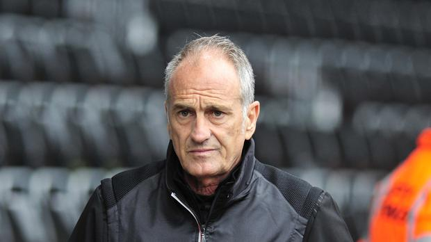 Manager Francesco Guidolin is keen to emulate his Coppa Italia success at Swansea