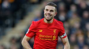 Liverpool captain Jordan Henderson has been sidelined by a foot injury