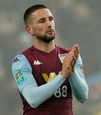 Aston Villa's Irish midfielder Conor Hourihane. Photo: Reuters